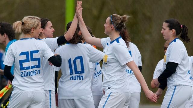 Die FCZ-Frauen kämpfen in Ljubliana um die CL-Teilnahme.