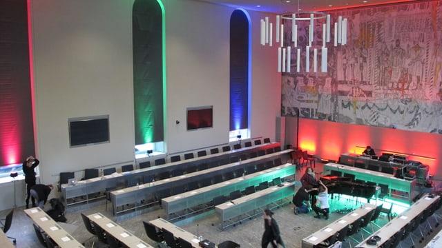 Grossratssaal in Chur
