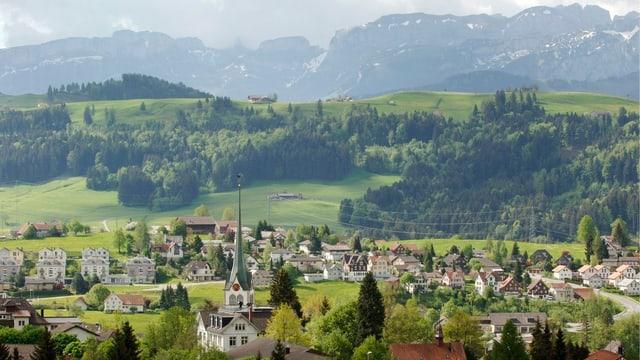 Teufen Dorf