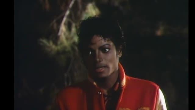 Screenshot aus dem Michael Jackso-Video «Thriller».