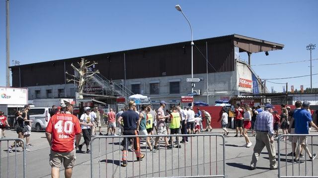 Stadion-Geschichte