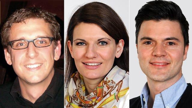 Dr. Emanuel Burri, Dr. Christine Manser und Dr. Piero Valli