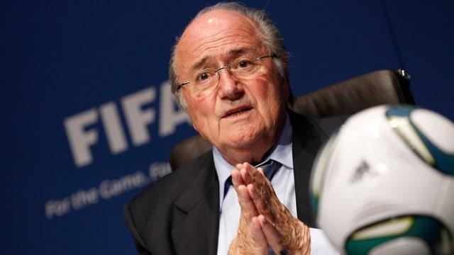FIFA-Präsident Joseph Blatter.