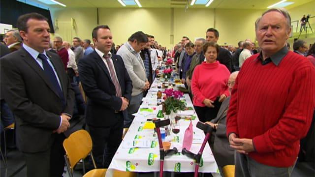 Delegierte der SVP in Luzern