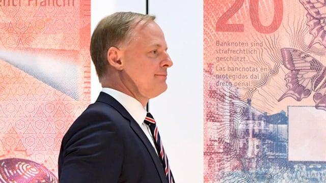 Thomas Wiedmer, commember suppleant da la direcziun da la SNB.