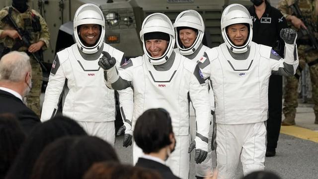 Astronauten der Crew Dragon