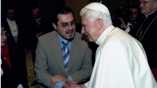 Journalist Mario Galgano von Radio Vatikan traf den zurückgetretenen Papst Benedikt mehrmals persönlich.
