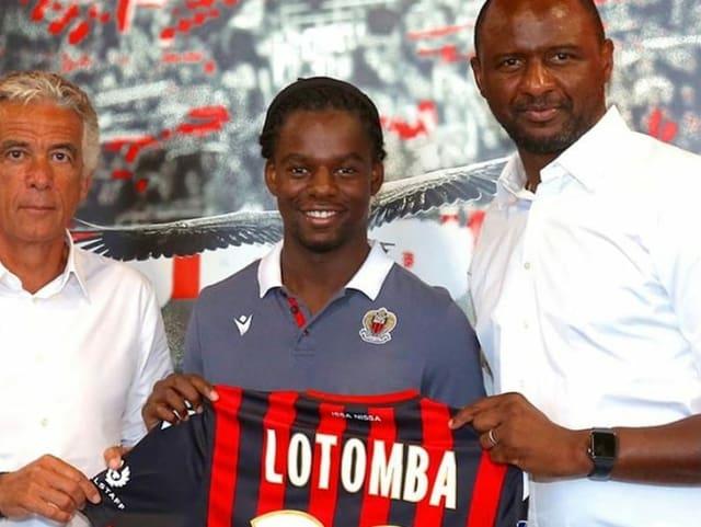Jordan Lotomba mit Patrick Vieira
