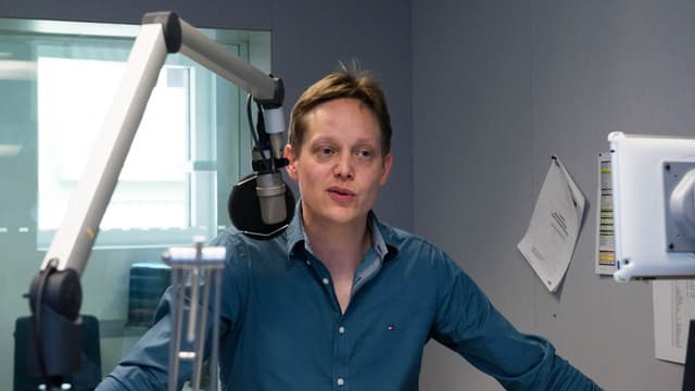Portrait von Marc Allemann im Studio