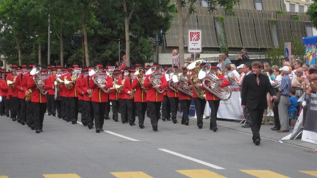 Impressiun da la Festa chantunala da musica 2013 a Cuira.
