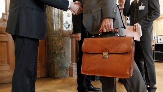 Lobbyisten in der Wandelhalle
