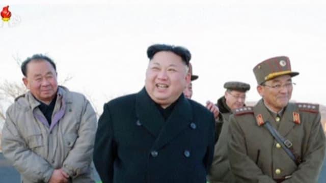 Il dictatur nordcorean Kim Jong Un e ses gidanters.