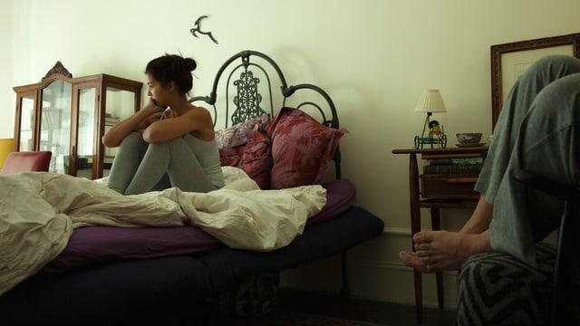Im Input erzählt eine junge Frau über ihr Leben ohne Sex.