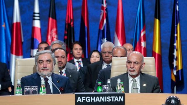 Politichers afghans.
