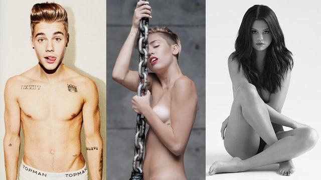 Mehr Sex. Das typische «Erwachsen werden» junger, familienfreundlicher Popstars.