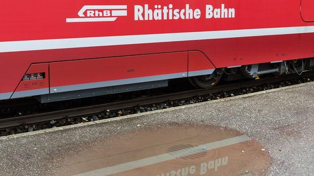 Wagen der Rhätischen Bahn