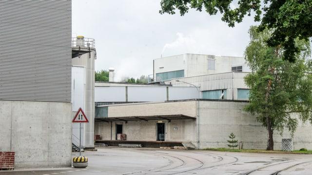 Aussenaufnahme Papierfabrik