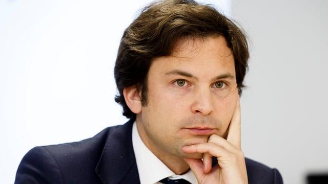 Der Genfer Stadtrat Guillaume Barazzone (CVP)