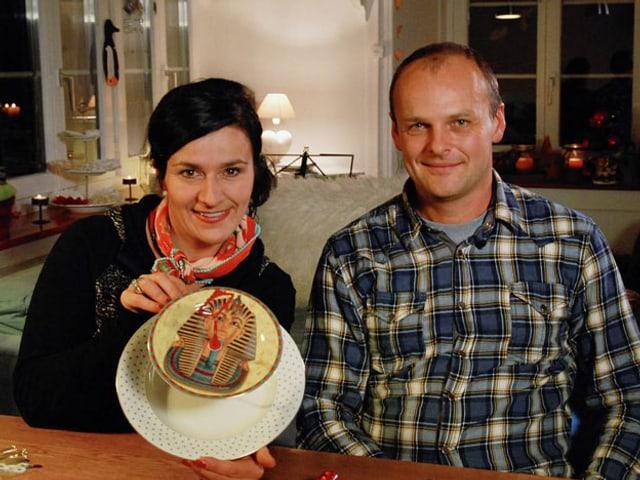 Anet Corti und Martin Zak.