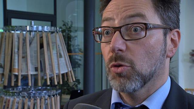 Roger Gaberell, Mediensprecher Skyguide.