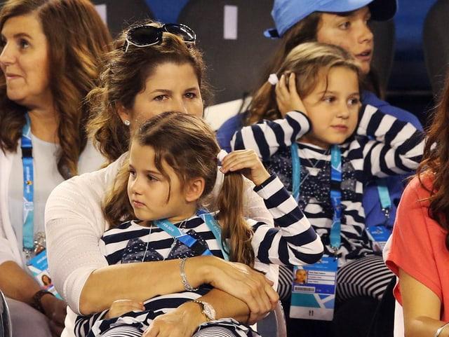 Die Federer-Zwillinge.