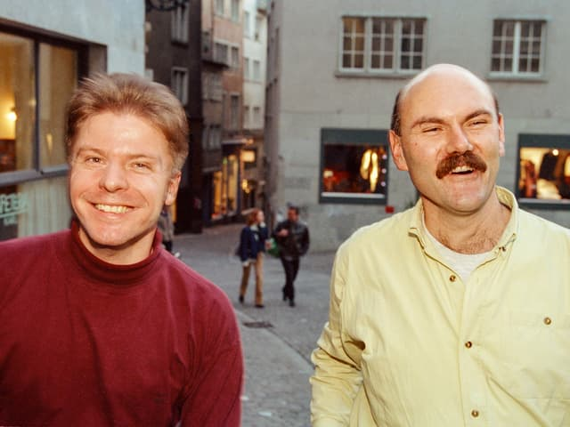 Martin Bäumle und Thomas Buechi