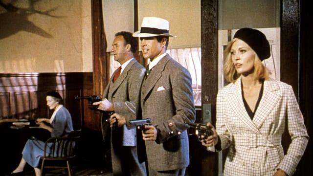 Filmausschnitt Bonnie & Clyde