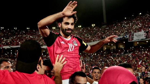 Doppeltorschütze Salah.