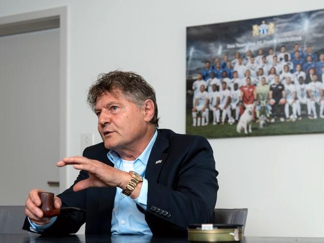 FCZ-Präsident Canepa.