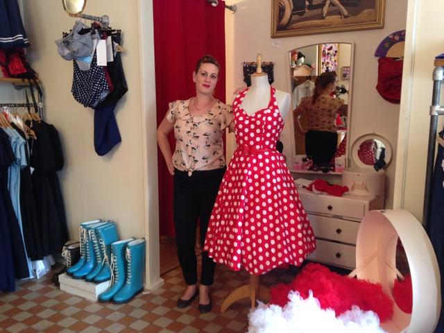 Nadine Stange lebt ihr Stil-Konzept bis ins letzte Detail.