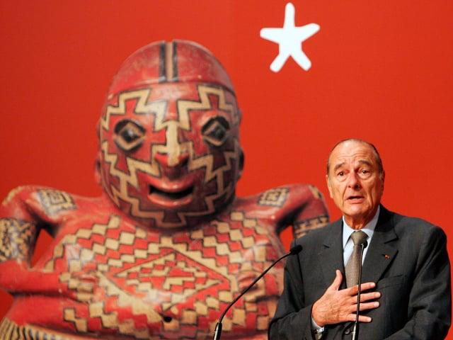 Chirac im Museum
