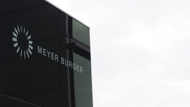 Meyer Burger Firmenlogo.