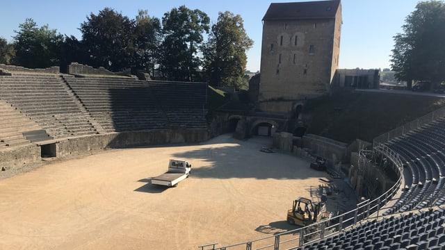 Amphitheater und Quadraturturm