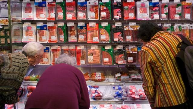 Fleisch-Kunden