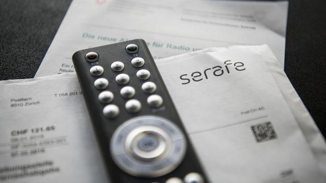 Apparatura da televisiun sur quint da Serafe