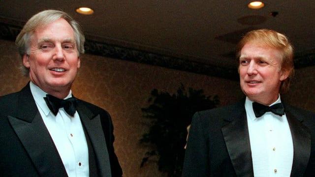 Robert und Donald Trump 1999 in New York