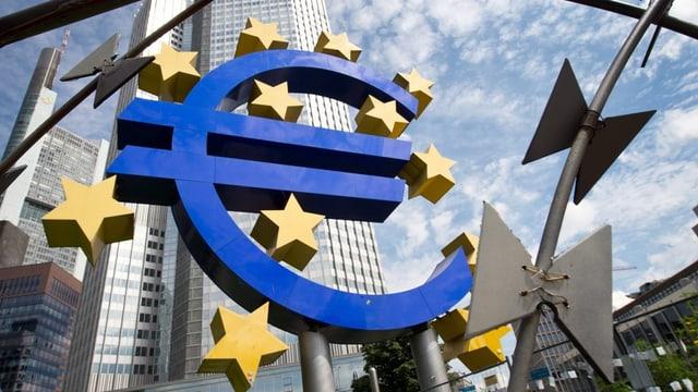 La sedia da la Banca a Frankfurt.
