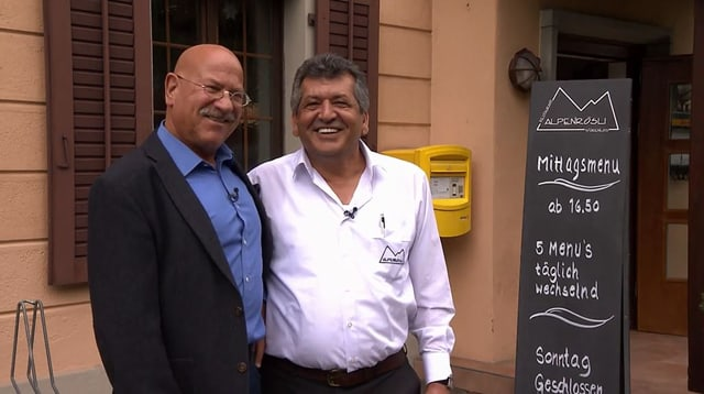 Video «Kanton Aargau – Tag 1 – Restaurant Alpenrösli, Würenlos» abspielen