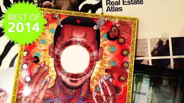 LP Covers auf einem Haufen
