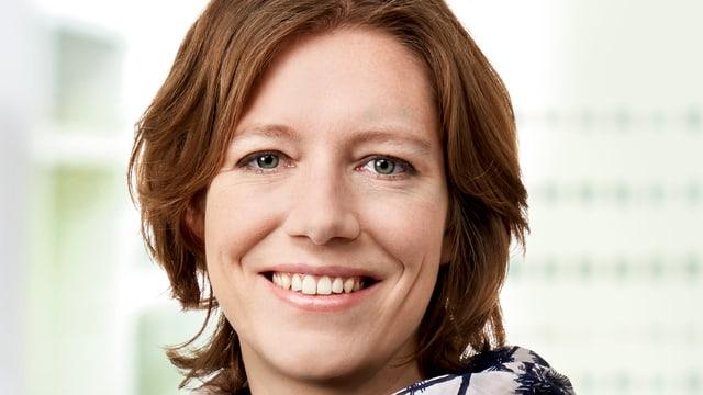 Die neue Präsidentin der Grünliberalen Sonja Lüthi