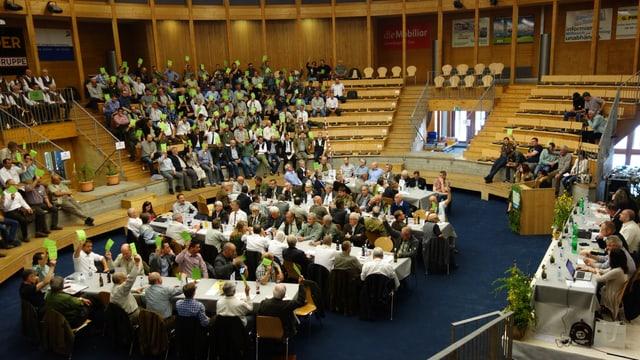 Radund 250 persunas han visità la radunanza da delegads.