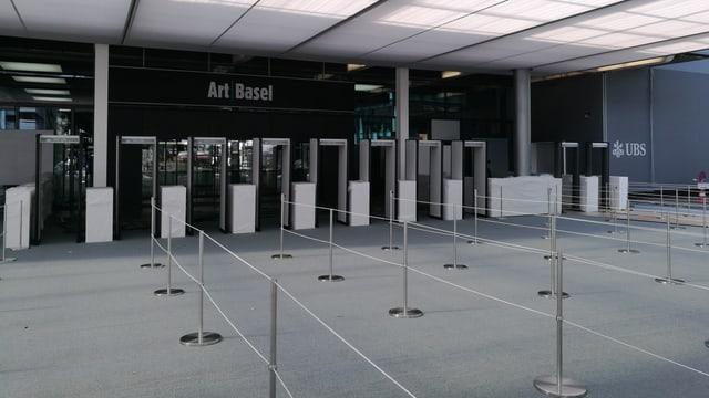 Haupteingang der Art Basel