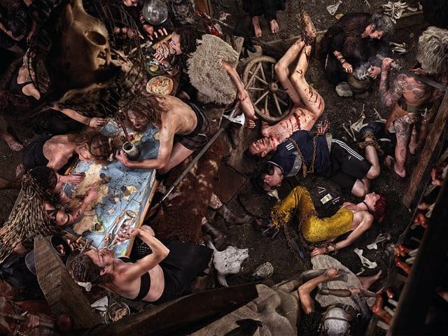 «Barbareninvasion» von Antal Thoma