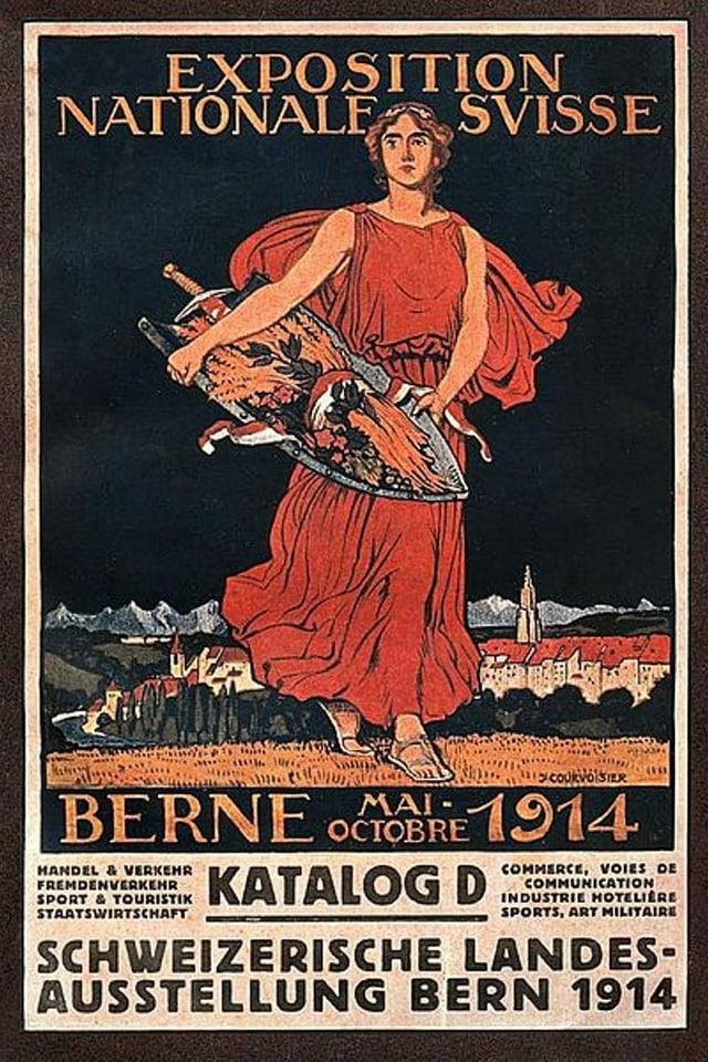 Plakat Landesausstellung 1914