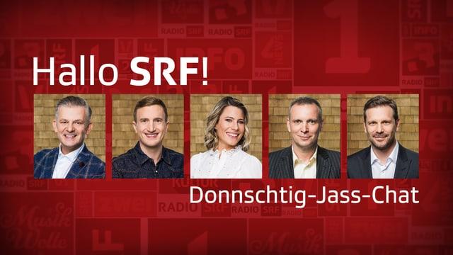 «Hallo SRF!»-Chat zum «Donnschtig-Jass»