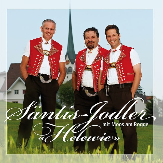 Edi Tanner, Ueli Koller und Ivo Streule auf dem CD-Cover «Helewie».