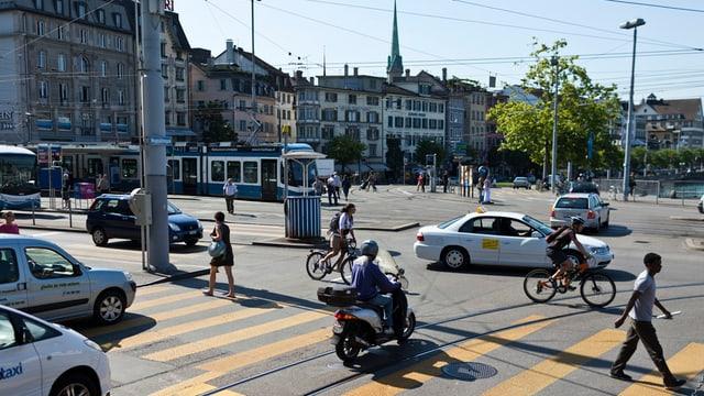 Central-Platz in Zürich