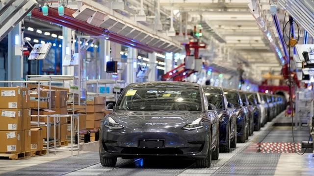 Teslafabrik