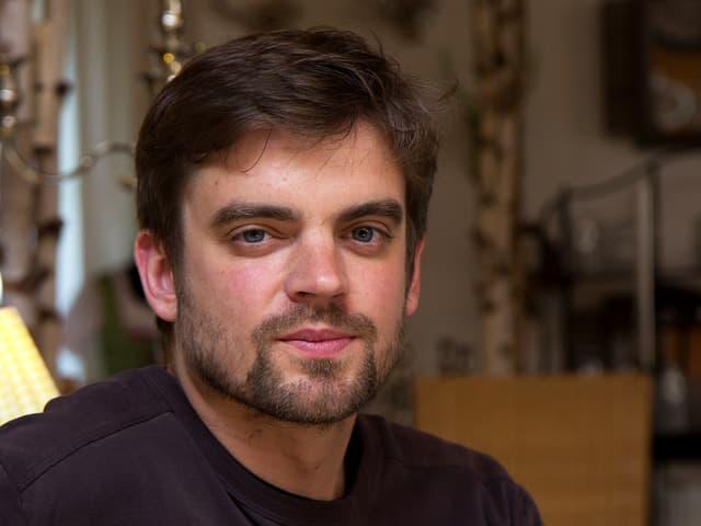 Der Schriftsteller Matthias Nawrat beim Hausacher Leselenz 2013.