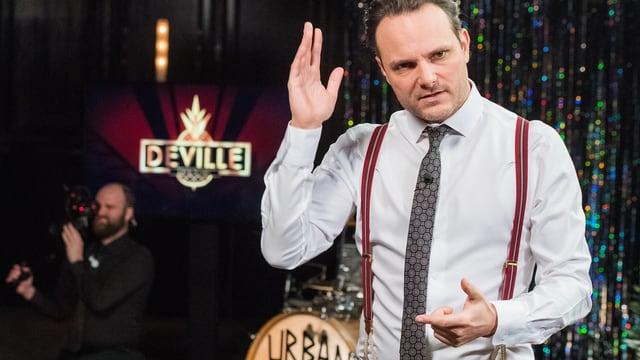 Video ««Deville»: Erhöhter Spass-Faktor mit Komiker Marco Rima» abspielen